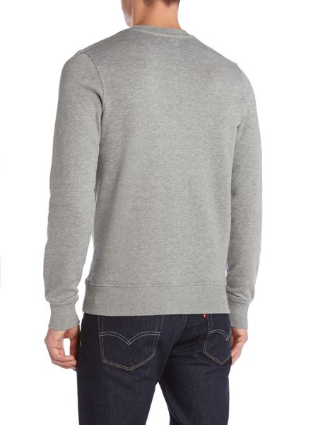 Jack & Jones Print Crew Neck Pull Over Overhead