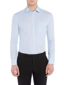 Farrell Dobby Stripe Slim Fit Shirt