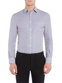 Howick Tailored Amory Double Stripe Shirt