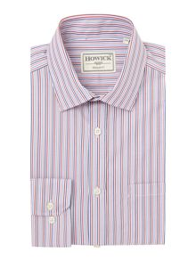 Campbell Stripe Shirt With Single Cuff