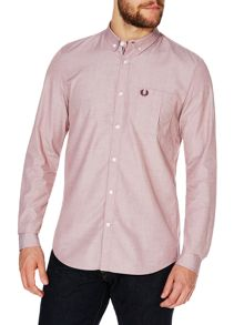 End On End Plain Long Sleeve Button Down Shirt