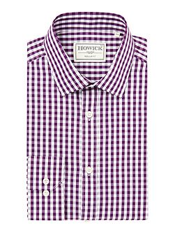 Men's Howick Tailored Foxhorn Large Check Shirt