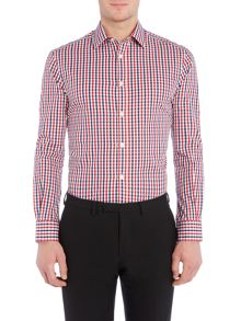 Howick Tailored Foxborough Large Check Slim Fit Shirt