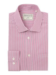 Howick Tailored Fairbanks Bengal Stripe Shirt