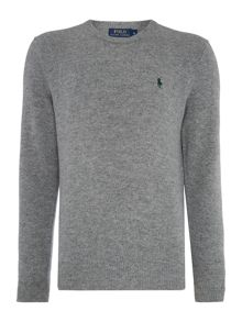 Polo Ralph Lauren Crew Neck Lambswool Jumper