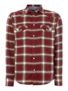 Only & Sons Check Classic Fit Longsleeve Classic Collar Shirt