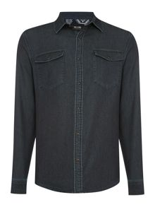 Only & Sons Plain Classic Fit Long Sleeve Classic Collar Shir