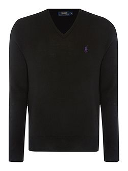 V-Neck Merino Jumper