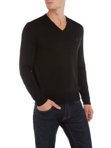 Polo Ralph Lauren V-Neck Merino Jumper