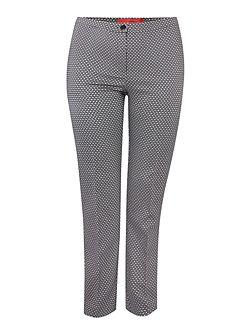 Sparkle print tailored trouser