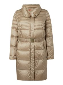Marina Rinaldi Padded medium length coat