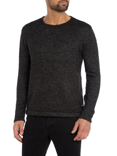 Only & Sons Textured Crew Neck Pull Over Cardigan
