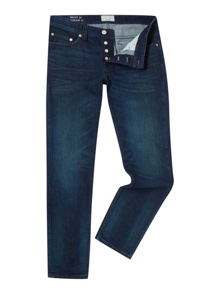 Only & Sons Dark Wash Mid Rise Jeans