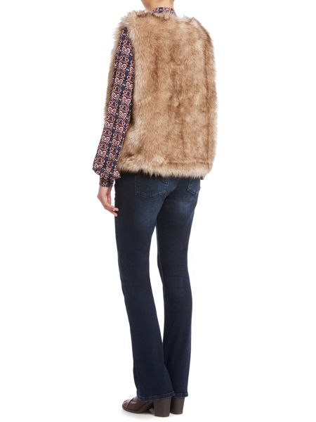 Therapy Faux Fur Gilet