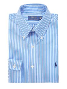 Polo Ralph Lauren Custom Fit Stripe Shirt With Pocket