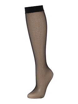 Twenties net knee high socks