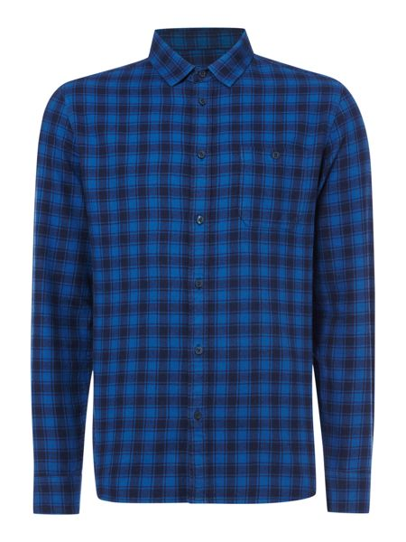 Criminal Lawrence Check Long Sleeve Shirt