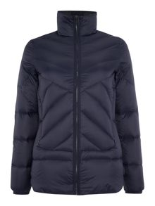 Calvin Klein Packable down long padded coat in night sky