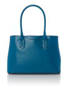 Tate blue large tote bag