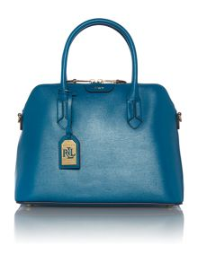 Tate blue dome tote bag