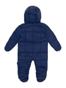 Baby Boys Quilted Fauxfur Lined Hooded Jacket