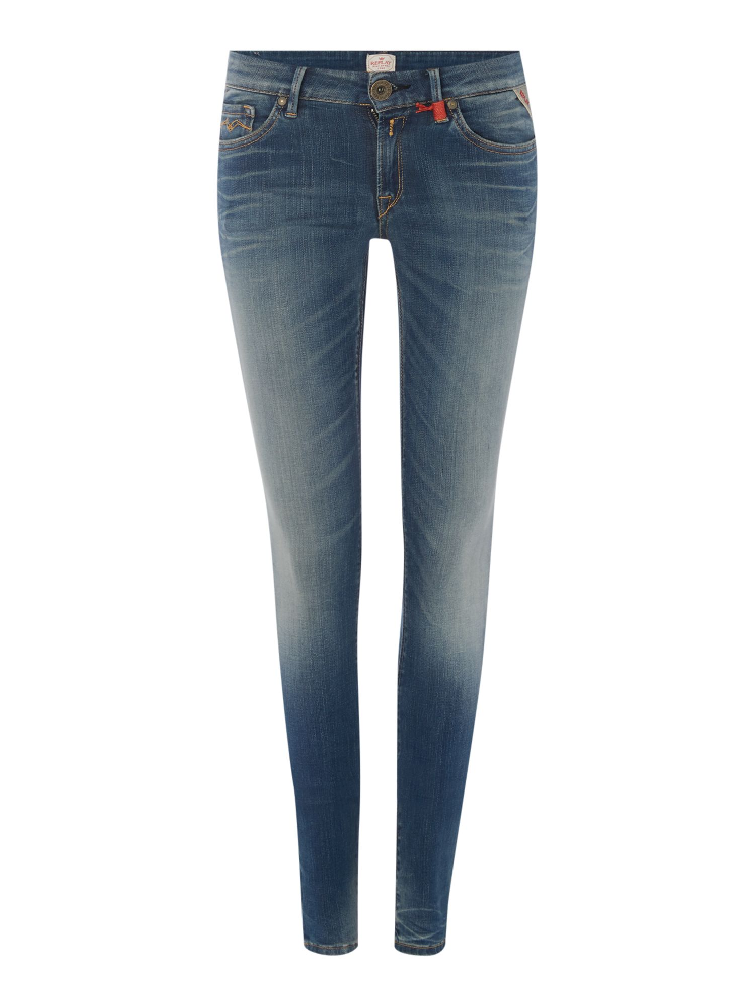 Luz Skinny Hyperflex, Denim