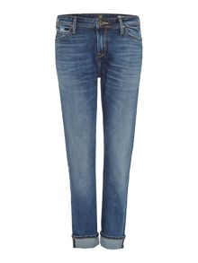 Sallie relaxed boyfriend jean in rugged selvage