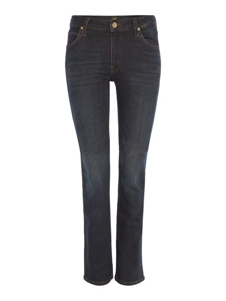 Lee Marion straight leg jean in gold night
