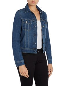 Slim rider denim jacket