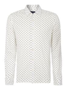 Scotch & Soda Hands Allover Printed Shirt