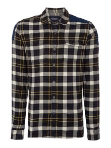 Scotch & Soda Brushed Flannel Check Shirt