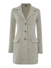 Narusi long sleeve lambs wool coat
