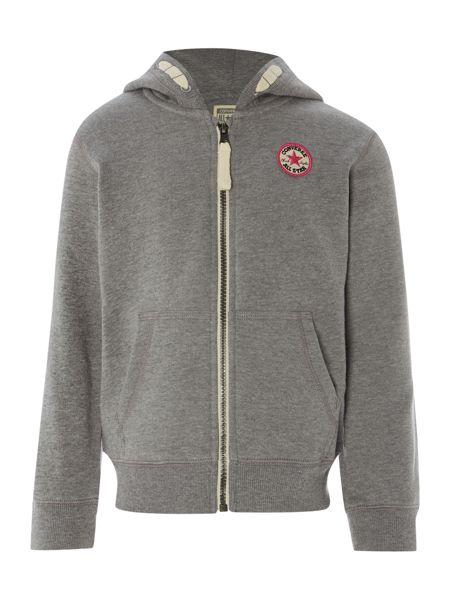 Converse Girls Hoody With Converse Badge Logo