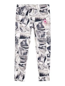 Converse Girls Photo Print Leggings