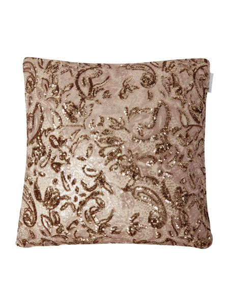 Kylie Minogue Alexa Gold Direct Coord Cushion 45x45cm