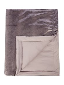 Kylie Minogue Lorenta Truffle Coordinating Throw 140x220cm