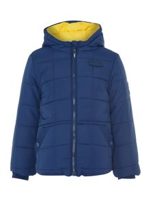 Puffa Boys Quilted Hooded Jacket
