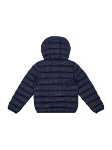 Boys Quilted Hooded Jacket