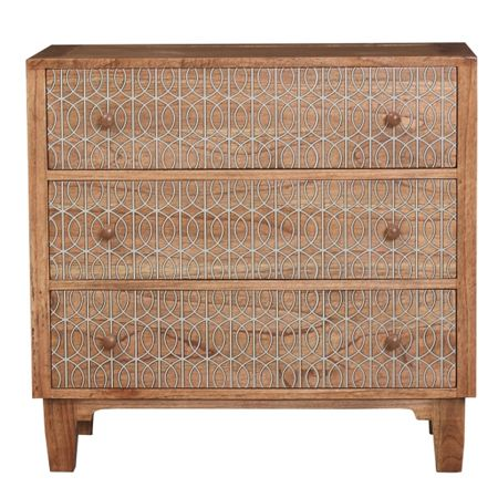 Living by Christiane Lemieux Gate 3 drawer wide chest