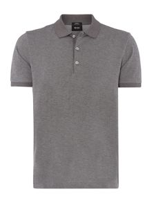 Paullo 01 Textured Polo Slim Fit Polo Shirt