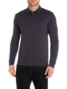 Hugo Boss Paderna 30 Regular Fit Long Sleeve Polo Shirt