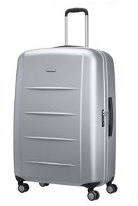Xylem silver 82cm extra large spinner suitcase