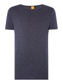 Hugo Boss Graphic Crew Neck Regular Fit T-Shirt