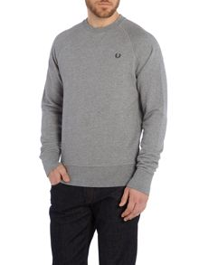 Fred Perry Plain Crew Neck Jumper