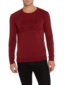 Hugo Boss Graphic Crew Neck Pull Over Jumpers
