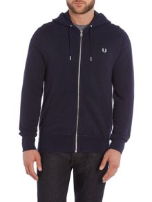 Plain Hoody Zip-Thru Fastening