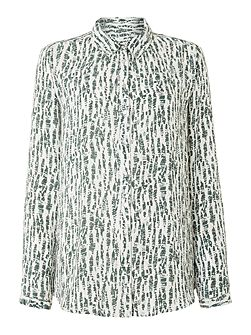 Linea Weekend Newrange LS Print Blouse