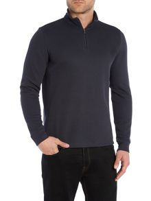 Piceno 57 Funnel Neck 1/4 zip sweatshirt