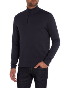 Hugo Boss Piceno Plain Funnel Neck Zip Fastening Jumpers