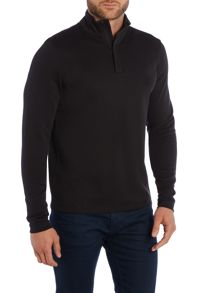 Piceno Plain Funnel Neck Zip Fastening Jumpers
